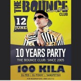 Party! Bounce 10 years!